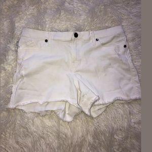 Rock and Republican white cut off size 14 hula